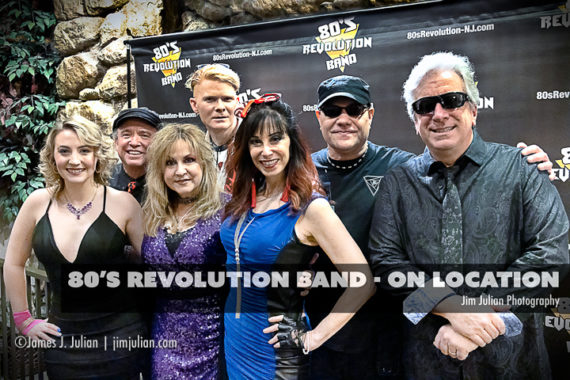 80's Revolution Band On Location