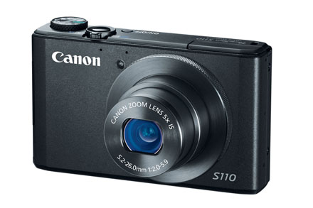 Canon PowerShot S110 in Black