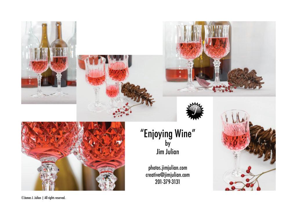 Enjoying Wine Photography Series Brochure