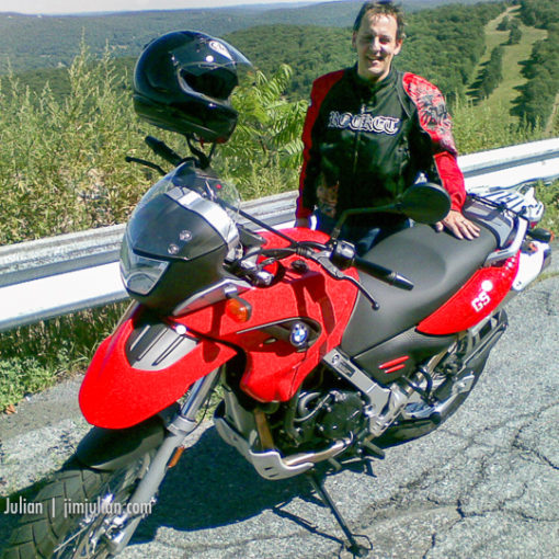 First Trip BMW G650GS Motorcycle 1