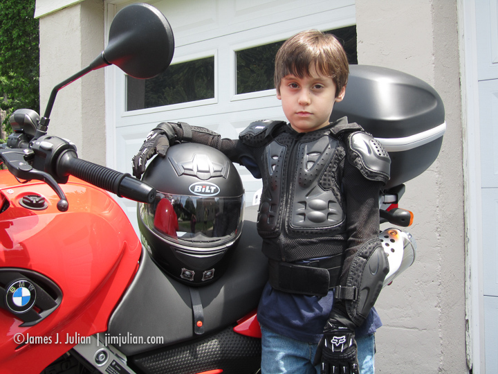 Rocco's First Motorcycle Ride